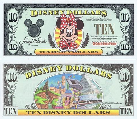 Minnie / Disneyland Icons $10 - 1999