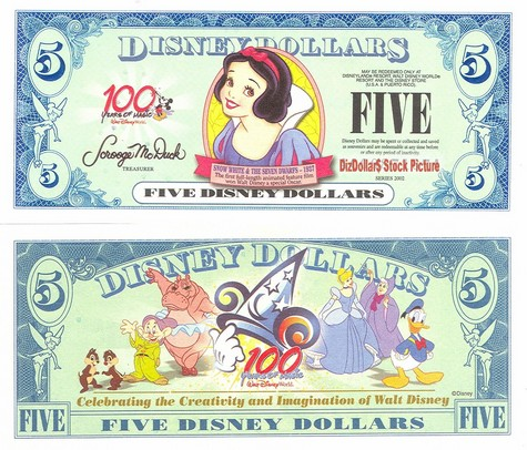 Snow White / 100 Years of Magic $5 - 2002