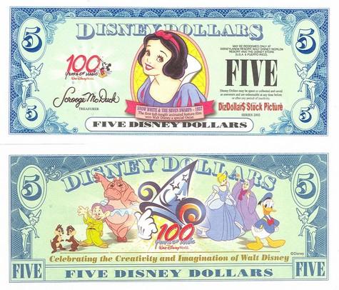 Snow White / 100 Years of Magic $5 - 2002