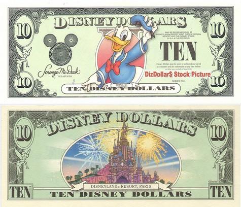 Donald / Disneyland Resort Paris Castle $1 - 2003