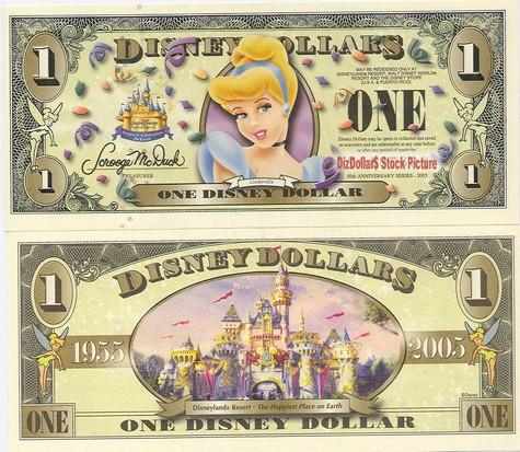 Cindrella / Cinderella's Castle $1 - 2005