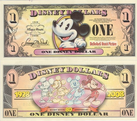 Boyer's Pie Eyed Mickey Mouse / Mickey Mouse's 80th Anniversary $1 - 2008