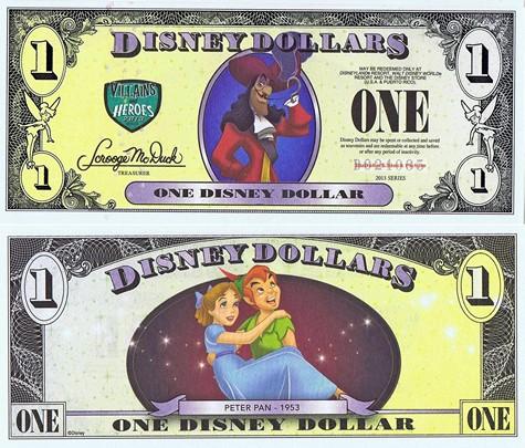 Captain Hook & Peter Pan $1 - 2013