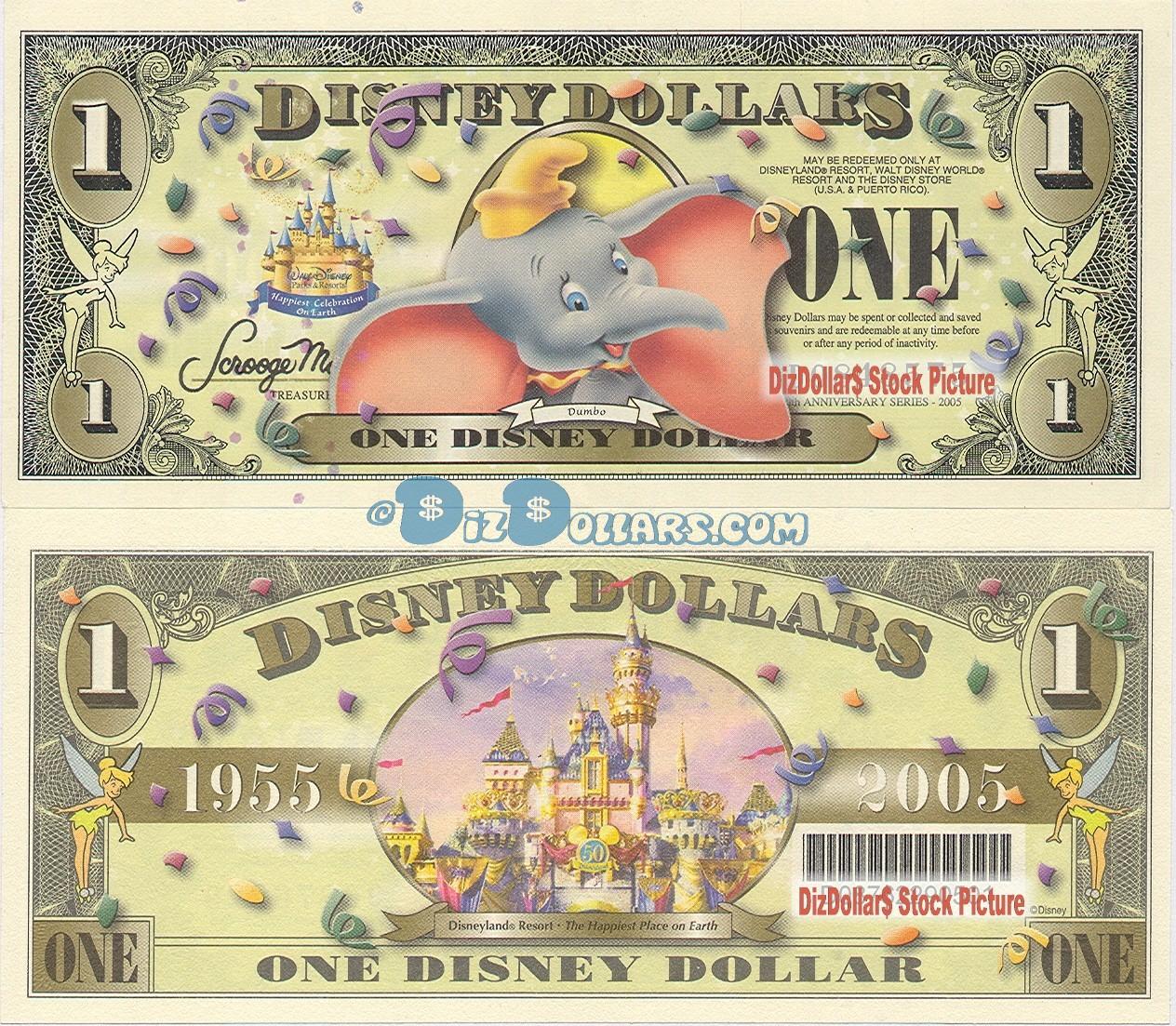 2008 $10 Mickey A Series  MINT