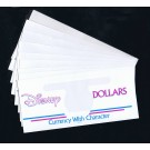 "Disney Dollars Collector Envelopes ""Currency with Character"""