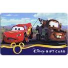 Disney Pixar Cars Lightning McQueen & Mater Gift Card © Dizdollars.com