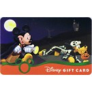 Disney Mickey And Pluto Halloween Gift Card © Dizdollars.com