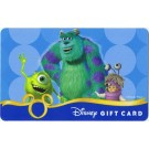 Disney Monsters Inc. Gift Card © Dizdollars.com