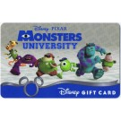 Disney Monsters University with Mike Wazowski, James P. Sully, Art, Don Carlton, Scott (Squishy) Scribbles, Terri & Terry Perry Gift Card © Dizdollars.com