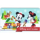 Disney White Christmas With Mickey, Minnie, Chip & Dale Gift Card © Dizdollars.com