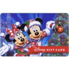 Disney Mickey & Minnie Christmas Tinsel And Lights Gift Card © Dizdollars.com