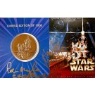 Star Wars Weekends 2004 Bronze Coin LE1000 Numbered 0351 front © DizdOLLARS.com