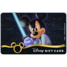 Star Wars Gift Card with Mickey Mouse as Luke Skywalker ~ Disney Star Wars Weekends 2013 © Dizdollars.com