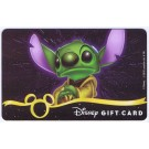 Star Wars Gift Card with Stitch as Yoda ~ Disney Star Wars Weekends 2013 © Dizdollars.com